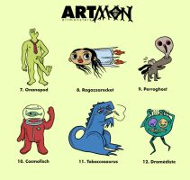 Artmon II by The-Mirrorball-Man
