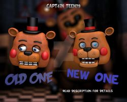 Improved Toy Freddy Model! by Capt4inTeen79