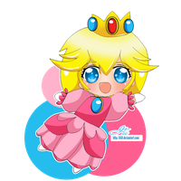 Peach by itii8