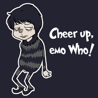Cheer up emo Who by snowcalico