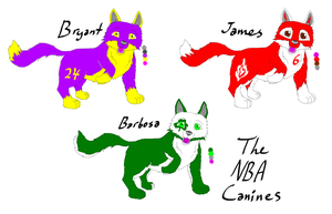 NBA wolf adopts (points) by Storm-Cwalker