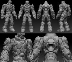 3D Character Zbrush by Suuxe