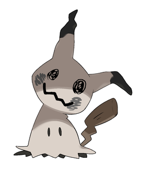 Shiny Mimikyu by 6FigersLoverEver