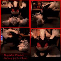 Mephiles Plushie by LiChiba by Mephiles-Fanclub
