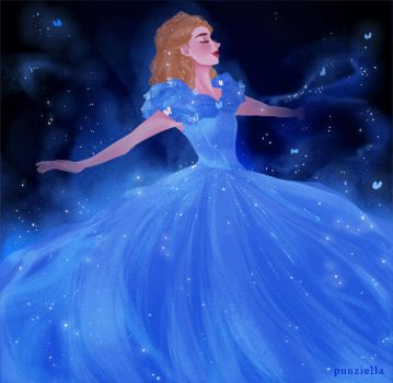 Cinderella GIF by muttonfudge