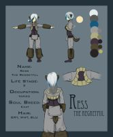 Ress - Character Sheet by Crystori
