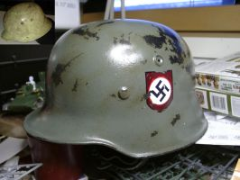 German helmet by bumbklaatt