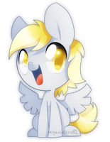 Chibi Derpy by PegaSisters82