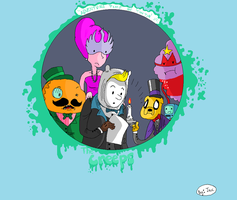 Adventure Time of Tin Tin by JaxASDF