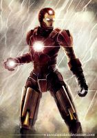 IRON MAN by unrealsmoker