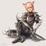 Pink Cat Soldier by Landylachs