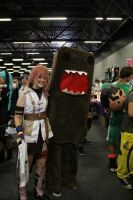 Lightning and Domo by halokitty44