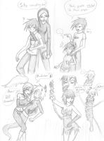 Danny Phantom Doodles by oobidoobi