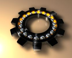 Ball Bearing Gear_Black by R-Nader