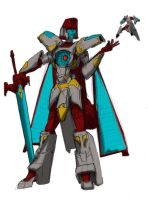 Gender Swap: Vector Prime by EmeraldBeacon