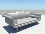 Old Sofa by polymorphic-stone