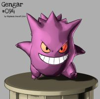 Kanto Team 'Gengar' by Anuxinamoon
