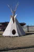 TeePee Stock 2 by Running-to-Paradise