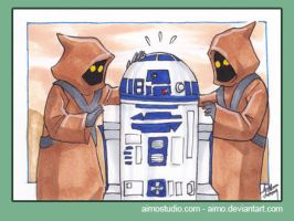 PSC - Jawas and R2D2 by aimo