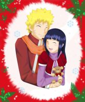 NaruHina-Xmas by KiroHoshi by NarutoxHinata-Club