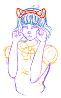 wow look a sketch i will never finish by FragileButts