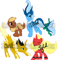 PokePony Adoptables11 by Sakuyamon