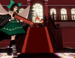 [MMD] The Palace of the Earth Spirits by icanbecutetoo