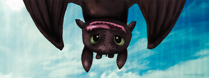 Toothless (Sdentato) by Domadraghi