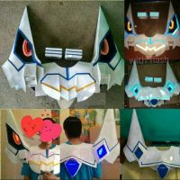 Ryuko Junketsu Armor with LED and LED remote by aishicosplay