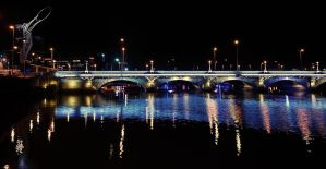 Queen Elizabeth Bridge Belfast by Gerard1972