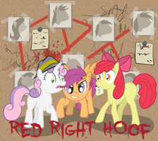 Red Right Hoof cover by NotAPonyUsername
