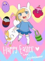 Happy Easter by jujubeaann