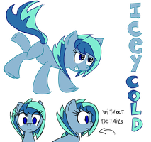 -NEW CHARA- IceyCold by ultimatewino