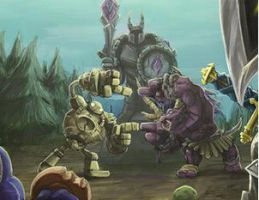 League of Legends: Alistar And Blitzcrank by An2010Dn