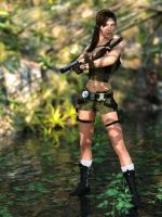 Lara's Shadow - Jungle Stylee! by tigerste