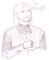 The Knight by BaaingTree
