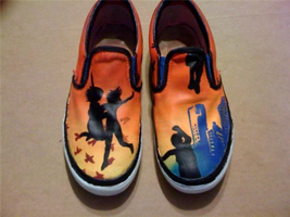 All Time Low Shoes by watermelonz