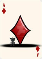 Fella Cards - Ace of Diamonds by the-pearl-piper