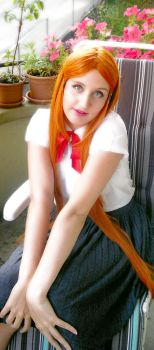 Orihime Cosplay Tryouts 3 by aquamarinesong