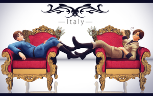 Italy x Italy by Fan-kot