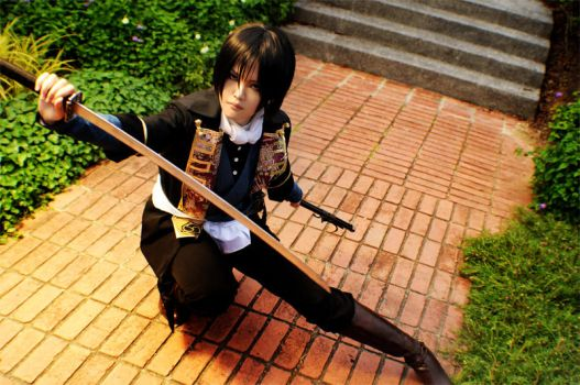 Hakuoki - The battle by rinabyakuran
