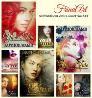 Romantic Pre-made Covers by FrinaArt