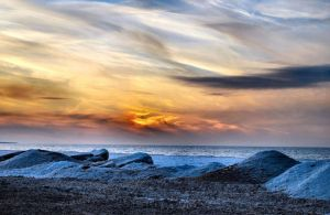 Lake Erie in January II by sherln