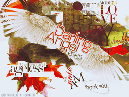 For Darling Angel by AliceMichaelis
