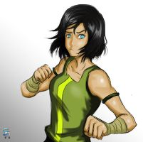 Korra: is that all you got?! by ShoCulit
