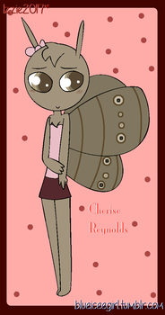 cherise the butterfly reynolds (gift) by blueiceegirlart