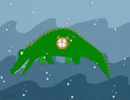 tick tock clockodile- enonea by childrensillustrator