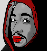 2PAC VECTOR/PROCREATIVE by DVDESIGN1