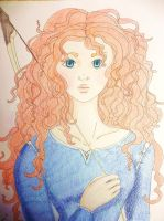 Princess Merida! by Kelly-ART