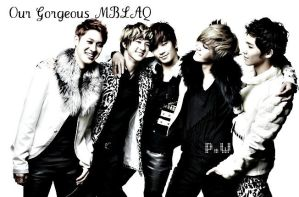 MBLAQ- Gorgeous by KateW49